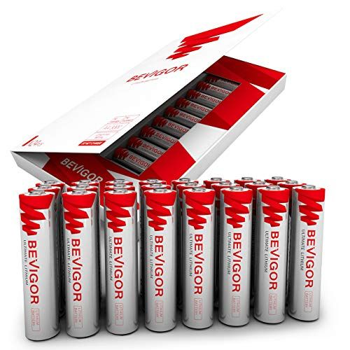 Bevigor Aaa Lithium Batteries 24pack Ultimate Lithium Triple A Batteries 1 5v 1100mah Longer Lasting Aaa Lithium Battery Amazon Promo Codes Emergency Lantern