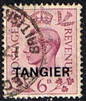 Morocco Agencies TANGIER 1949 SG 266 King George VI Fine Used Scott 536 Other Tangier Stamps HERE