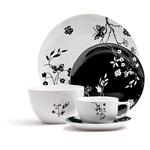 Juego de vajilla porcelana casita pinterest - Vajilla de porcelana ...