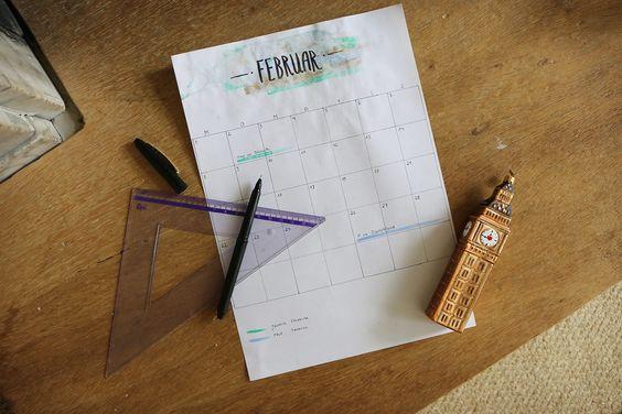 Doodle - Kalender #DIY