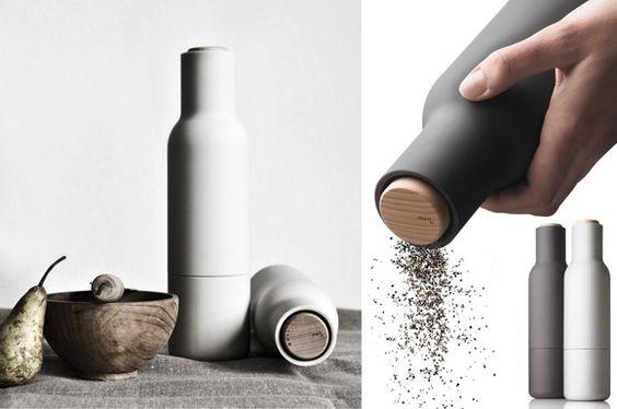The Norm Bottle Grinder . Menu