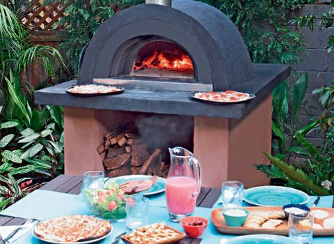 How To Build A Wood Fired Pizza Oven Better Homes And