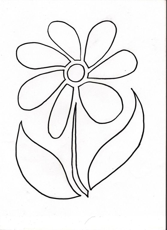 Flower Stencil | Stencil patterns, Flower stencils and Flower