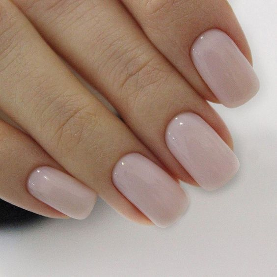 Light Pink Simple Nail Design Ideas In 2020 Kids Nail Salon Simple Nails Nails For Kids