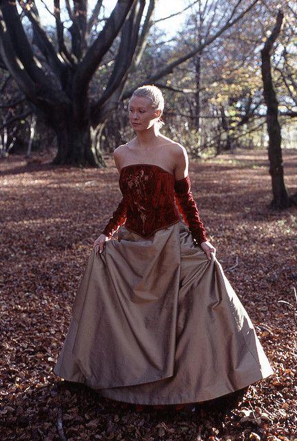 Part of a of a photo shoot I did for bridal gown designer Karen Jarmarkier.     modelgelin.com