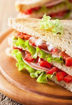 Sanduíche natural: 5 receitas light e deliciosas - Sanduíche natural: 10…