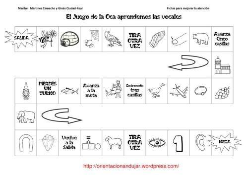 Juego De La Oca En Blanco Para Imprimir Búsqueda De Google Practicas Del Lenguaje Juegos De Tablero Juegos De Lectoescritura