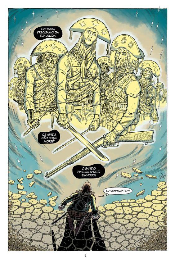 Bando de Dois do Rafael Grampá #colors #comics #colorist #quadrinhos