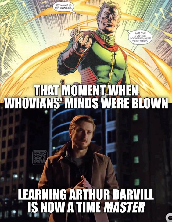 Can't wait for DC's Legends of Tomorrow! #arthurdarvill / http://saltlakecomiccon.com/slcc-2015-tickets/?cc=Pinterest