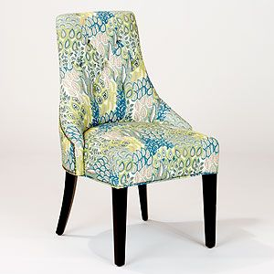 Feather Print Lydia Dining Chairs