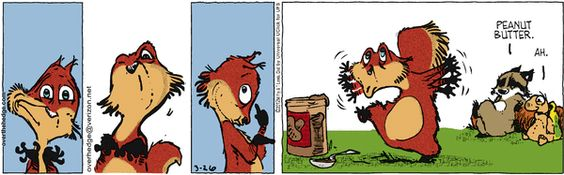Ahh the simple joys of peanut butter! LOL! Love this strip!