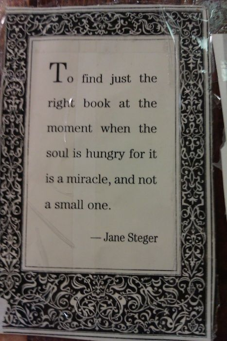 To find just the right book...