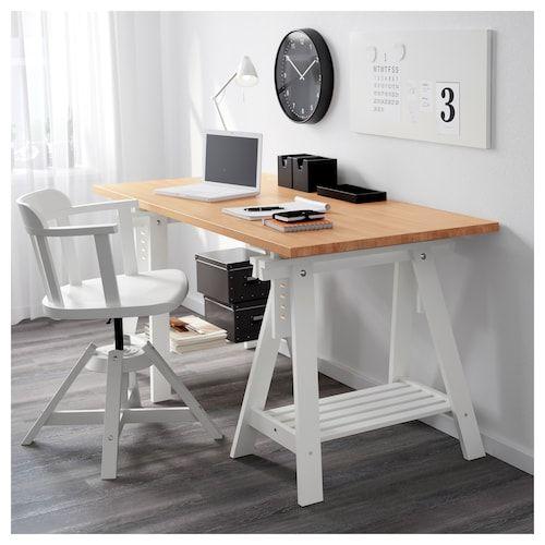 Ikea Gerton Beech Tabletop Home Office Furniture Home Office