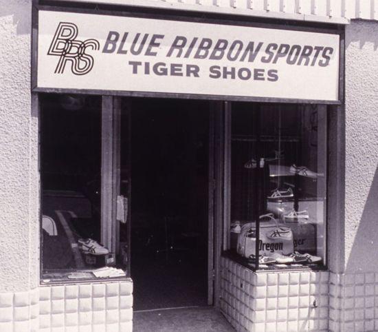 60年代のブルーリボンスポーツ社の店