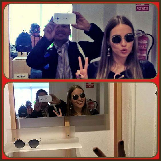 Con nuestra compañera y #topblogger @luceral  descubriendo las rabiosas novedades de @mo_multiopticas en PressDay @ttarragopr #Coolbloggers #lifestyle #compiyogui #anticafeina #Design #Fashion #moda