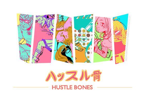 HUSTLE BONES ハッスル骨 on Behance