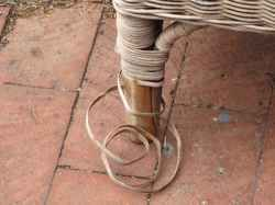 How to restore wicker furniture just bought some used for Recover wicker furniture
