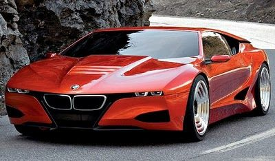 BMW concept car -- gorgeous!