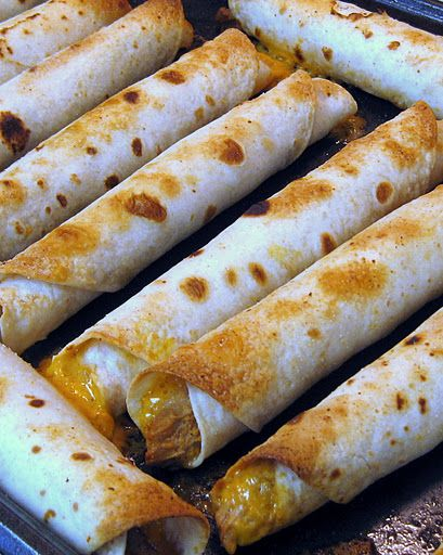 Creamy Pulled Pork Taquitos - these were fantastic!