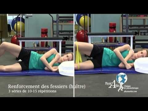 Exercices de renforcement de la hanche - YouTube