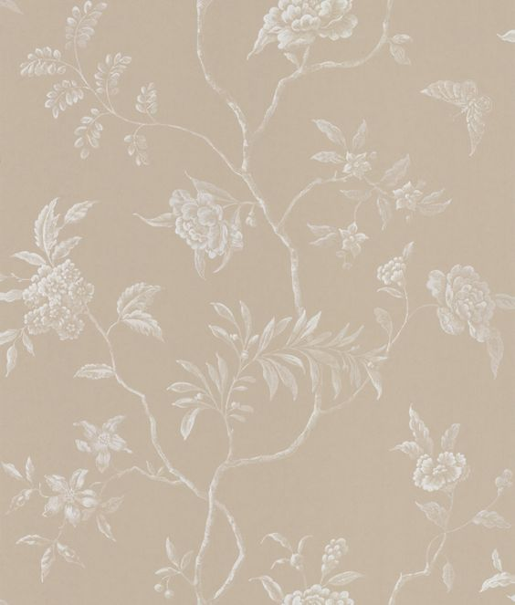 Delancey Beige wallpaper by Colefax and Fowler