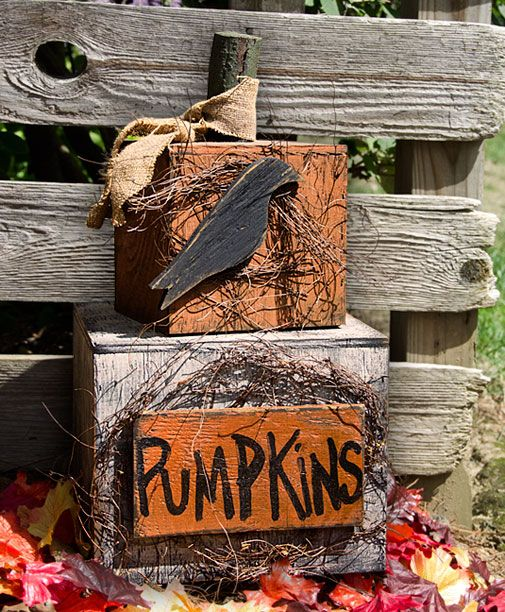 """Pumpkin Mini Stacker is 21-1/2"""" tall and made in the USA. A great look for your country home."""