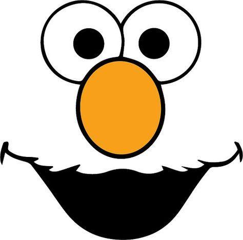 Elmo Face T Shirt Sesame Street Birthday Elmo Birthday