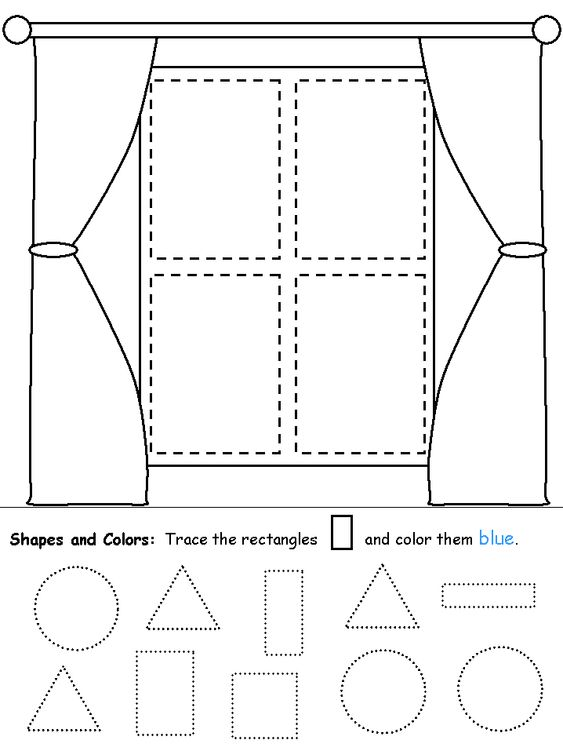 shapes recognition practice worksheet shapes pinterest window worksheets and shape. Black Bedroom Furniture Sets. Home Design Ideas