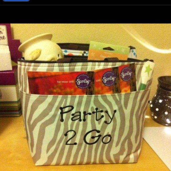 Thirty-One thermal tote Works great to show off your business!  Must share with my Scentsy friends!
