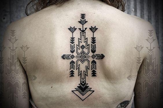 Abstract Tatto   Tatuaje Abstracto