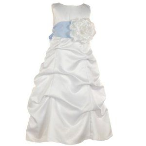 Little Girls Special Occasion Dress WHITE Flower Girl Sash BLOSSOM Wedding 4-14 (Apparel)  http://www.2hourday.com/amz/bestseller.php?p=B001CCA7GC  #bridesmaiddresses #cocktaildresses #eveningdresses #partydresses #maxidresses #formaldresses #flowergirldresses #plussizedresses #JessicaAlba #JessicaSimpson #AngelinaJolie