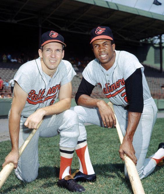 Brooks & Frank Robinson - Baltimore Orioles...........
