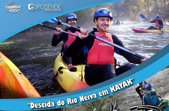 Descida do Rio Neiva em Kayak no âmbito do Esposende em Movimento dia 12 março 2012 | Esposende | Escapadelas ®