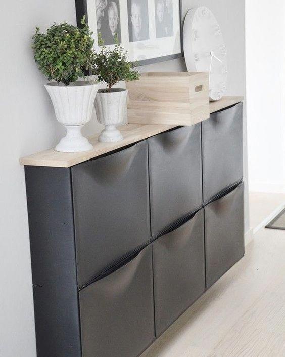 a chic ikea trones storage cabinet