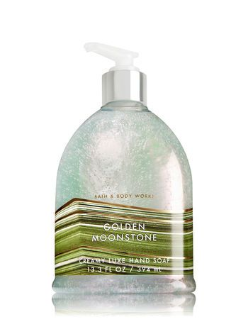 Golden Moonstone Creamy Luxe Hand Soap Bath And Body Works