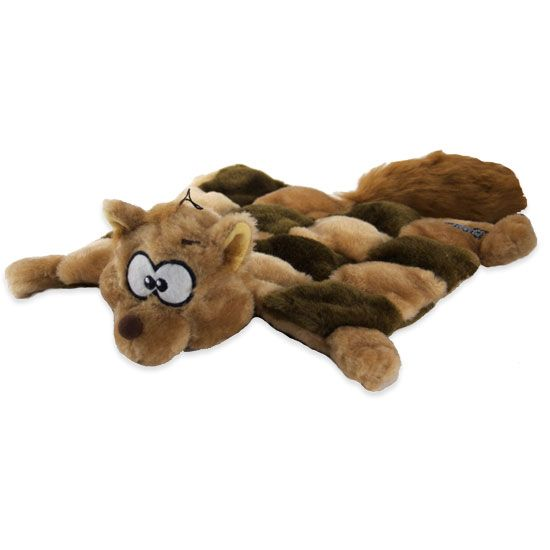 Squirrel Dog Toy With Squeaker