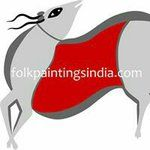 See this Instagram photo by @folkpaintingsindia • 16 likes