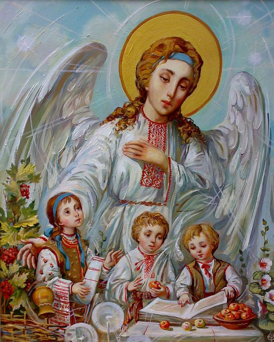 Ukrainian angel.: