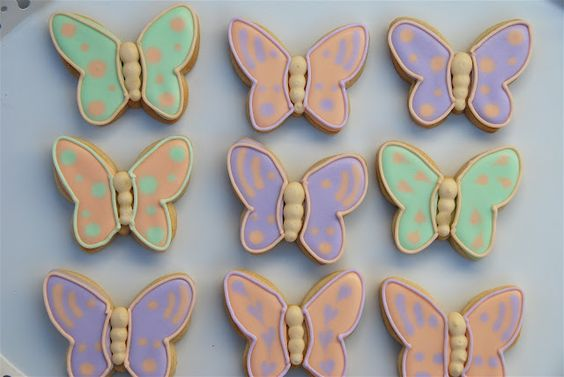 Galletas Mariposa - Butterfly Cakes