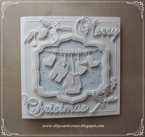 Elly's Card- Corner: Santa's suit http://ellyscardcorner.blogspot.com/2014/10/santas-suit.html  Frantic Stamper Santa's Suit, Jolly Holly Sprig, Merry Christmas