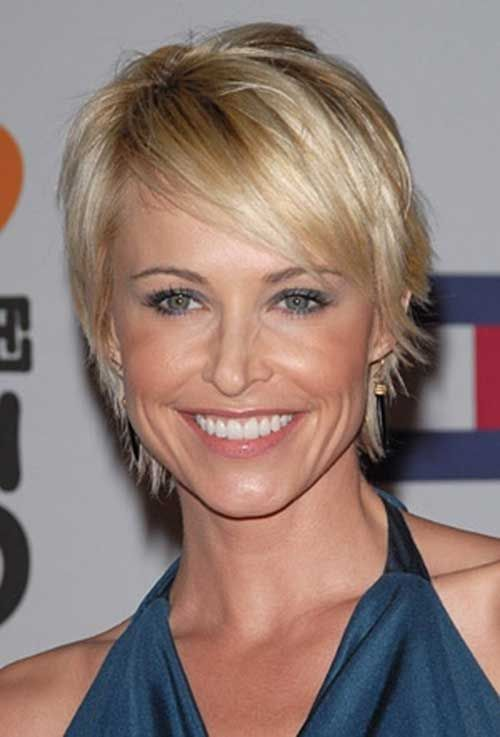 Josie Bissett Short Blond Haricuts