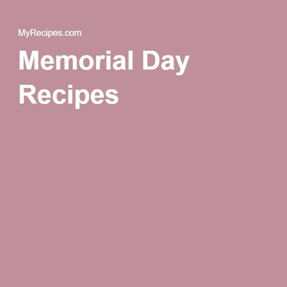 memorial day party side dishes