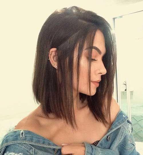 18 Cute Short Straight Hair Thick Hair Styles Hair Styles Short Straight Hair