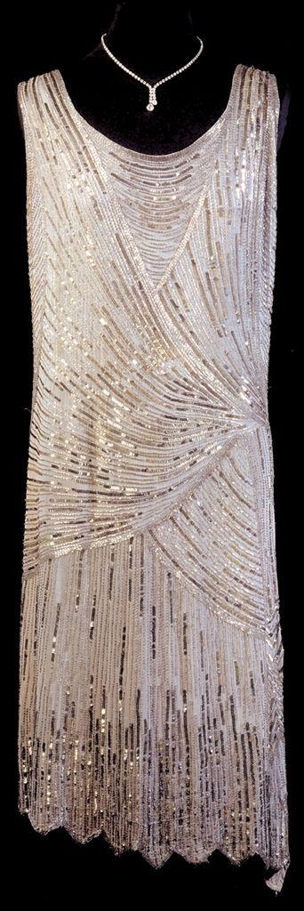Robe de soirée des années 20