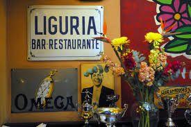 Resultado de imagen de liguria restaurant. Santiago. Chile.