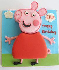 My Peppa pig cake