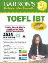 Barron's TOEFL iBT 2016 Guide (With DVD) Paperback ? 2013