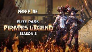 Elite Pass Season 5 Pirates Legend Garena Free Fire Elite Princess Wallpaper Seasons