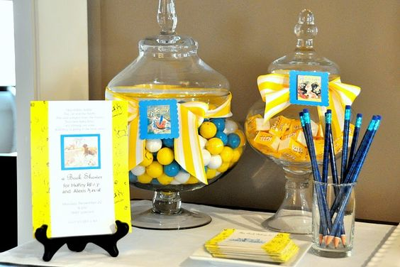 Little Golden Book party (INCLUDING free printables!)  adorable.
