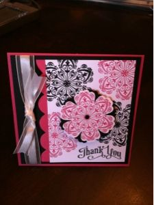 Stacy's Stampin' Spot made with Stampin' Up! Products